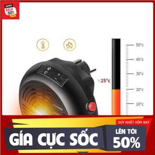 Quạt sưởi mini cắm điện loại 220V 900W có chức năng điều chỉnh nhiệt độ 15-32C cho không gian của bạn trở nên ấm cúng - 988kk thumbnail