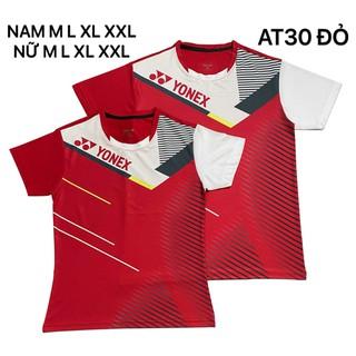 Áo cầu lông Yonex 2020 Nam Nữ Đỏ AT30 - 155 thumbnail