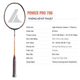 Vợt cầu lông ProKennex POWER PRO 706 - 160 thumbnail