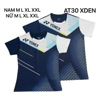 Áo cầu lông Yonex 2020 Nam Nữ Xanh Đen AT30 - 157 thumbnail
