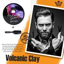 Sáp vuốt tóc nam Volcanic Clay vỏ nhôm 80 Gram - Gel,Wax tạo kiểu tóc nam chính hãng giá tốt Apestomen