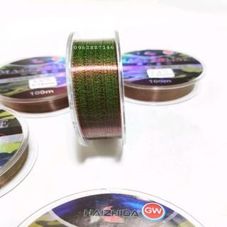 cước câu cá cước trục thẻo GW 3D tàng hình 100m nano - cước câu cá cước trục thẻo GW 3D tàng hình 10 thumbnail