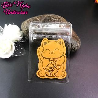 Miếng dán điện thoại Mèo Chiêu Tài - Mang đến May Mắn, Tài Lộc, Bình An - sticker mèo thần tài thumbnail