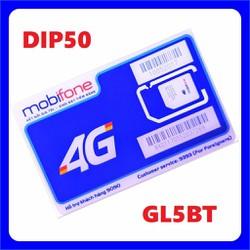 SIM 4G Mobi DIP50 Chuyên Dùng Vào Mạng Được Dùng Data Thả Ga Không Lo Hết Chỉ 50k/Tháng