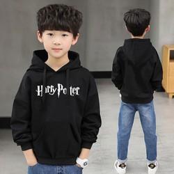 Áo Hoodie Trẻ Em WinBeen In Harry Potter Form Rộng Vải Nỉ Dầy Ấm Phong Cách Ulzzang