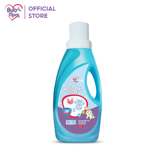 Nước giặt enzym an toàn cho bé 1000ml BuB&MuM thành phần thảo dược diệt khuẩn, mềm vải - AZKids - 3v3-SKU13 thumbnail