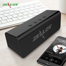 Loa bluetooth Zealot không dây nghe nhạc cực hay, âm thanh chất lượng cao, hỗ trợ kết nối Bluetooth 5.0, thẻ nhớ, USB – Hàng chính hãng