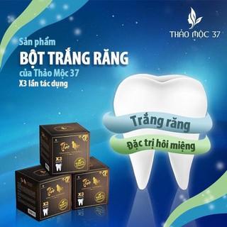 Bột Trắng Răng [ MIỄN PHÍ SHIP] Bột trắng răng thảo mộc 37, chữa hôi miệng, chảy máu chân răng.. - BTR52 thumbnail
