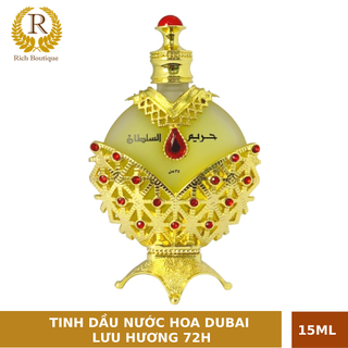 Tinh dầu nước hoa DUBAI nội địa cao cấp Nữ Hoàng Đỏ Lưu hương 72h 15ml - DUBAI NỮ HOÀNG 15ml thumbnail