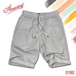 Big size, short kaki lưng thun unisex, quần sọt nam thương hiêu Amazing, phong cách thể thao