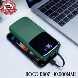 Pin sạc dự phòng Hoco/DB7-10.000mAh/ 4 cổng sạc/ Hàng chính hãng