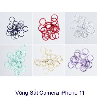 Vòng sắt camera iphone 11 (vòng) Zin Hãng - TV65XR thumbnail
