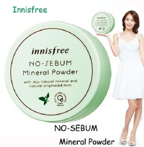 Phấn Phủ Bột Kiềm Dầu Innisfree. No Sebum Mineral Powder 5G [ Hàng Chuẩn ] - Innisfree. No Sebum Mineral Powder 5G 8