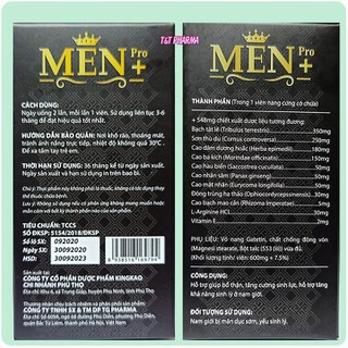 Viên Uống Tăng cường sinh lý cực mạnh Men Pro - Giúp tăng cường sinh lý mạnh hơn, bền vững hơn- hôp 30 viên - Men Pro - 5