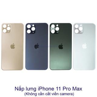 Nắp lưng kính iPhone 11 PRO 11 PRO MAX (không cần tháo máy) Zin Hãng - TV64XR thumbnail