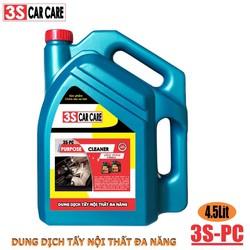 Dung dịch vệ sinh nội thất oto 4,5 lít , Hóa chất vệ sinh nội thất ô tô
