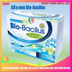 Cốm vi sinh Bio Bacilus Sữa Non giúp bé ăn ngon, giảm rối loạn tiêu hóa, táo bón, tiêu chảy – Hộp 30 gói bổ sung 4 tỷ lợi khuẩn cho trẻ từ 1 tuổi