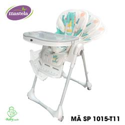 Ghế ngồi ăn cao Mastela 0619-MSTL-1015-T11 màu ghi-khủng long