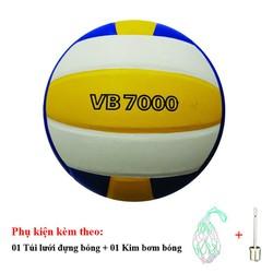 Bóng chuyền Thăng Long 7000 da Nhật Bản - Tặng Túi đựng bóng, kim bơm bóng tiêu chuẩn