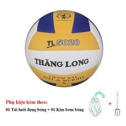 Bóng chuyền Thăng Long 5020 Tặng Túi đựng bóng, kim bơm bóng tiêu chuẩn