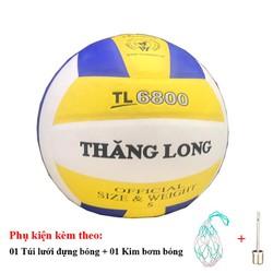 Bóng chuyền Thăng Long 6800 - Tặng Túi đựng bóng, kim bơm bóng tiêu chuẩn