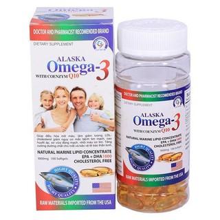 Alaska Omega-3 - Hộp 100 viên - Omega3 1 thumbnail