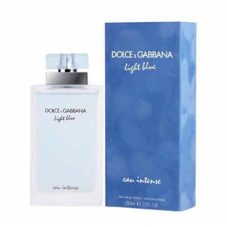 Nước hoa nữ Dolce & Gabbana Light Blue Eau Intense chai 100ml của Italia - D&G light blue Intense women 100ml thumbnail