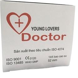 Bao cao su Young Lovers Doctor 144c cho gia đình và khách sạn