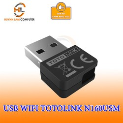 USB WiFi Totolink N160USM chuẩn N tốc độ 150Mbps chính hãng DGW phân phối