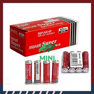 [1 Hộp 40 Viên] Pin AA Maxell Super Power ACE Red 1,5V - MAXELL-PIN-AA-40PCS thumbnail