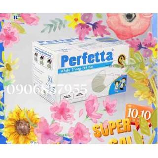 Khẩu Trang Y Tế Trẻ Em Cao Cấp Perfetta cho bé từ 06-12 tuổi - Hàng chuẩn xuất Châu Âu - khẩu trang y tế thumbnail