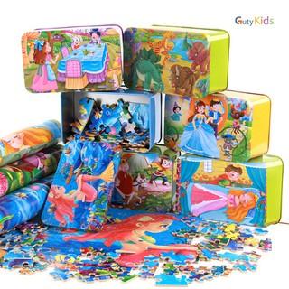 Đồ chơi ghép hình gỗ cao cấp - đồ chơi phát triển trí tuệ cho bé, Dành cho trẻ từ 3 tuổi trở lên ( Giao mẫu ngẫu nhiên ) - fg100iu thumbnail