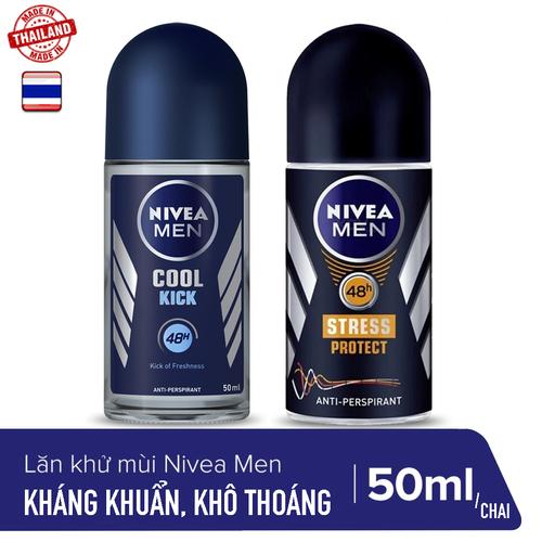 [SALE SỐC- FREE SHIP] 1 CHAI  Lăn khử mùi Nam khô thoáng Nivea Men 50ml/chai_HÀNG CHÍNH HÃNG -