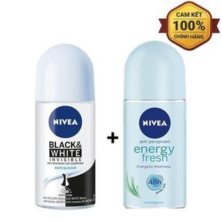 free ship_Combo 2 chai lăn khử mùi Nivea hàng chính hãng 50ml giao mầu ngẫu nhiên - 2 lăn khử mùi - Nivea NỮ thumbnail