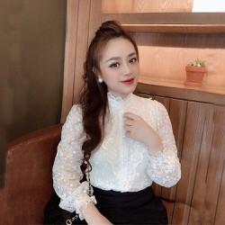 Áo ren đẹp nữ phong cách hàn quốc