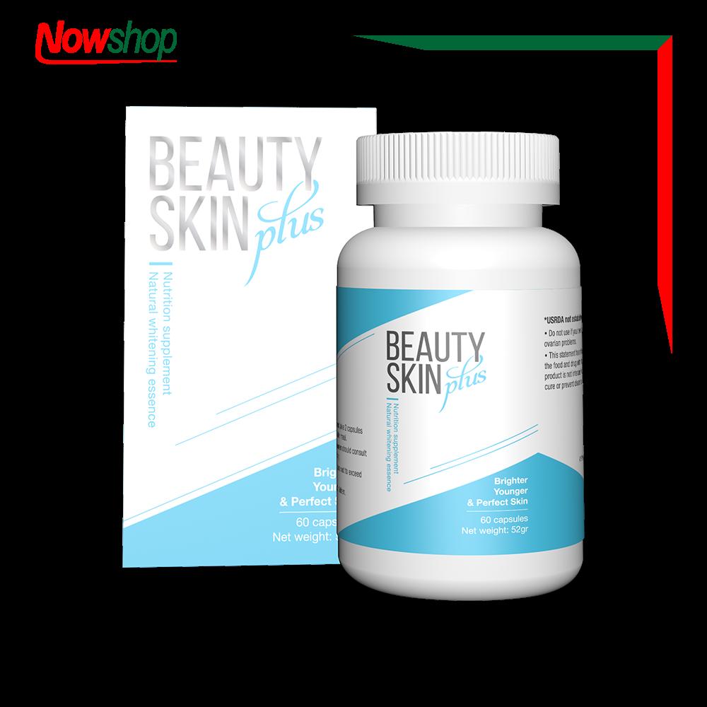 Viên uống đẹp da, chống nắng, giảm nám và ngăn ngừa lão hóa Beauty Skin Plus. Hộp 60 viên