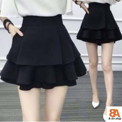 [Rẻ Vô Địch] Chân váy 3 tầng có quần chất vải Tuyết Mưa có 3 Size S M L dành cho nữ trẻ trung năng động cá tính