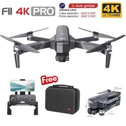 Flycam SJRC F11 4K Pro, Cmera 4k Chống rung 2 trục, TẦM XA 1.2kM