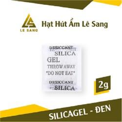 Gói Hút Ẩm Đóng Gói 2 Gram (Bịt 200 Gram-100 Gói Silica Gel) Gói Chống Ẩm