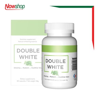 Viên uống đẹp da, chống nắng, giảm nám và ngăn ngừa lão hóa Double White. Hộp 60 viên - LDDW22 thumbnail