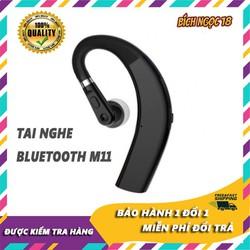 Tai nghe bluetooth không dây thể thao m11, tai nghe 1 bên, kết nối 2 điện thoại cùng lúc, hỗ trợ mọi thiết bị, thiết kế xoay 270 độ, ốm át vành tai, cảm giác đeo thoải mái, tiện dụng, hiện phần trăm pin tai nghe, âm thanh HD