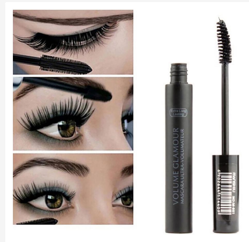 Mascara BeautyBigBang làm dày mi màu đen trang điểm chuyên nghiệp
