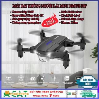 Máy bay flycam điều khiển từ xa 4K Drone F87 Camera 720P góc xoay 120 độ tự về bằng 1 nút - Flycam giá rẻ chống rung quang học thumbnail