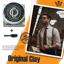 Sáp vuốt tóc nam Original Clay chính hãng giá tốt, Gel-Wax tạo kiểu tóc hợp với mọi loại tóc