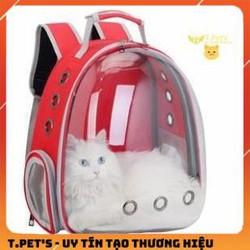 Balo Cho Chó Mèo - Balo Phi Hành Gia Cho Thú Cưng - Balo vận chuyển chó mèo trong suốt hàng đẹp