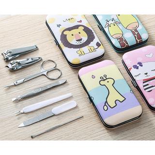 Bộ kiềm cắt móng tay bỏ túi tiện lợi Hoạt Hình cute - BKcute thumbnail