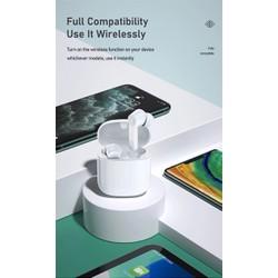 Tai nghe Bluetooth True Wireless Remax TWS-7 V5.0 [Trắng] - Hãng phân phối chính thức [ĐƯỢC KIỂM HÀNG]
