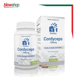 Viên uống tăng cường sức khỏe Đông Trùng Hạ Thảo Cordyceps Famitaa 1500mg - SKCF22 thumbnail