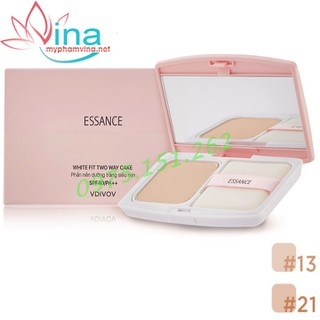 PHẤN PHỦ ESSANCE VEIL FIT TWO WAY CAKE 11G SỐ 21 - essanceVeil Fit Two Way Cake 21 thumbnail