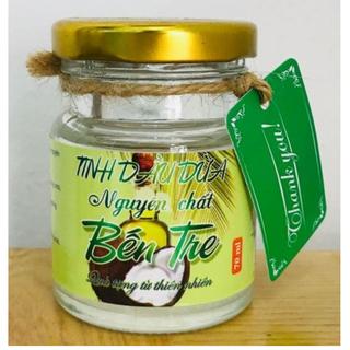 Tinh dầu dừa nguyên chất Bến Tre dạng hũ 70ml - dừa BT thumbnail